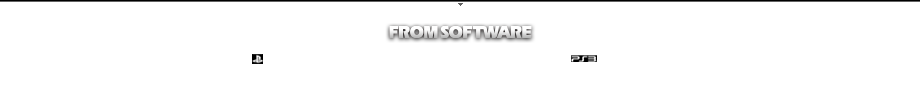 c1997-2013 FromSoftware, Inc. All rights reserved.
